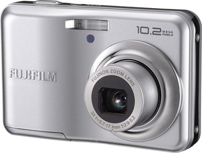 Finepix A170 10.2 MP 3x Zoom Digital Camera (Silver)