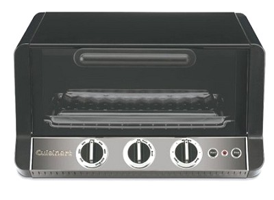 Classic Toaster Oven Broiler (Black Chrome) - TOB-50BCH