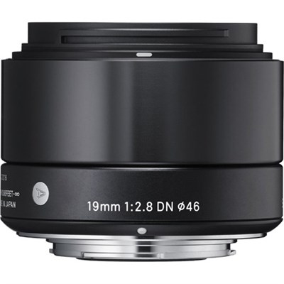 19mm F2.8 EX DN ART E-Mount Lens for Sony (Black) - OPEN BOX