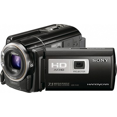 HDR-PJ50V Handycam Full HD Camcorder w/ Projector and GPS
