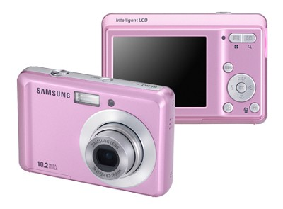 SL30 10MP 2.5` LCD Digital Camera (Pink)