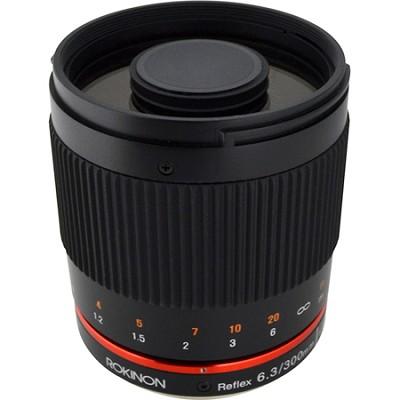 300mm F6.3 Mirror Lens for Sony E-Mount (Black)