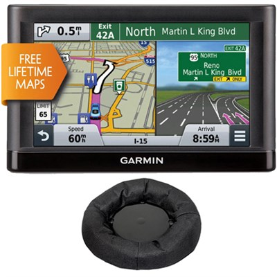 nuvi 66LM GPS Navigation System with Lifetime Maps & Garmin Friction Mount