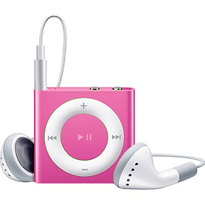 2GB iPod Shuffle 4th Generation Pink