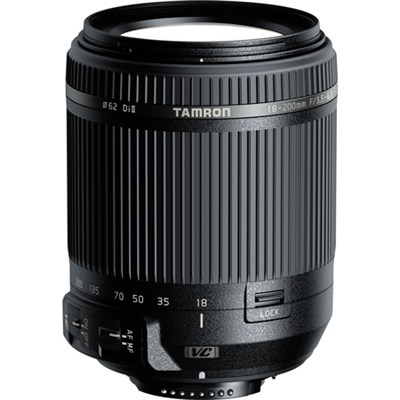 18-200mm Di II VC All-In-One Zoom Lens - Nikon Mount