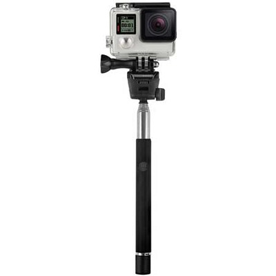 Telescopic Selfie Stick for Smartphones With Shutter Release