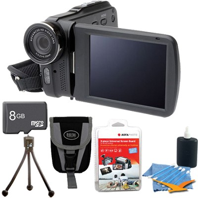 DV3HD Slim 1080p Full HD Digital Camcorder Ulitmate Bundle!