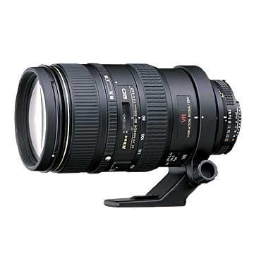 80-400mm F/4.5-5.6D ED VR AF Zoom-Nikkor Lens (Refurbished)