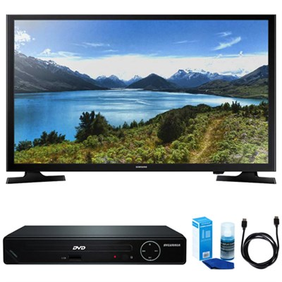 UN32J4000 32-Inch 720p LED TV w/ HDMI DVD Player Bundle