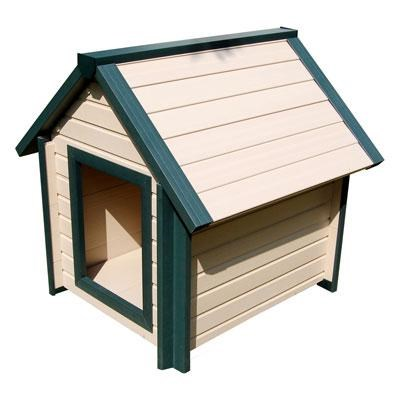 Large Bunkhouse Dog House - ECOH103L-GN