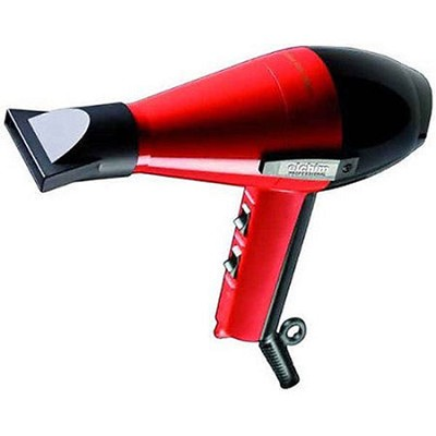 2001 Hair Dryer 1800 Watts in Black & Red - Made in Italy