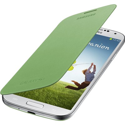 Galaxy S IV Flip Cover Green