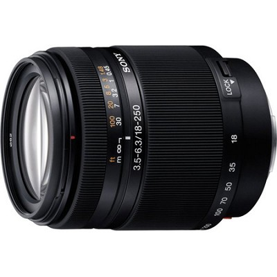 SAL18250 - DT 18-250mm f/3.5-6.3 High Magnification Autofocus - OPEN BOX