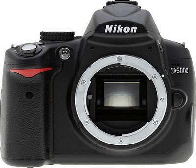 D5000 DX-Format Digital SLR Body