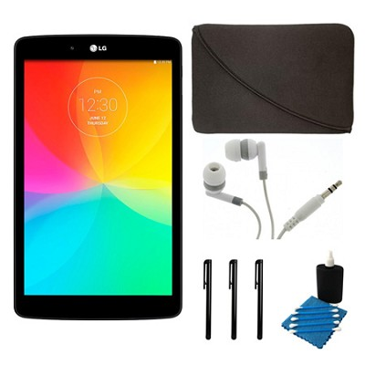 G Pad V 480 16GB 8.0` WiFi Black Tablet and Case Bundle