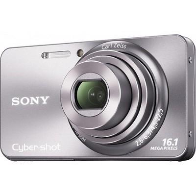 Cyber-shot DSC-W570 16MP Silver Digital Camera