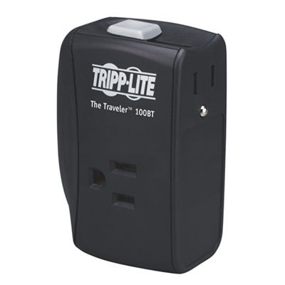 1050J 2-Outlet Portable Surge Protector - TRAVELER100BT