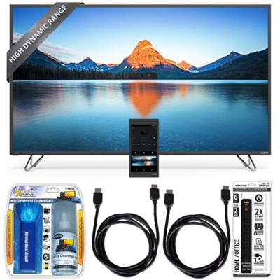 M50-D1 - 50-Inch 4K SmartCast HDR Ultra HD TV Essential Accessory Bundle