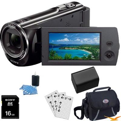 HDR-CX290/B 8GB Full HD Camcorder Essentials Bundle