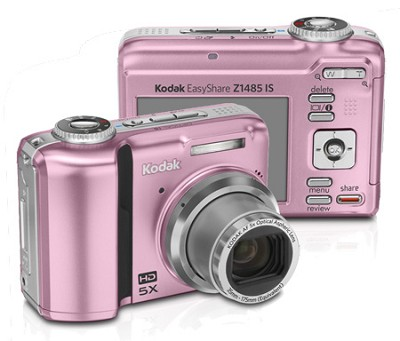 EasyShare Z1485 IS 14MP Digital Camera (Pink)
