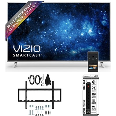 P50-C1 SmartCast P-Series 50` Class Ultra HD HDR TV w/ Slim Wall Mount Bundle