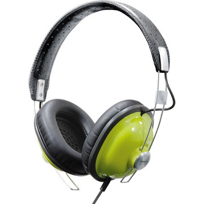 RP-HTX7-G1 Retro Style Monitor Headphones (Green)