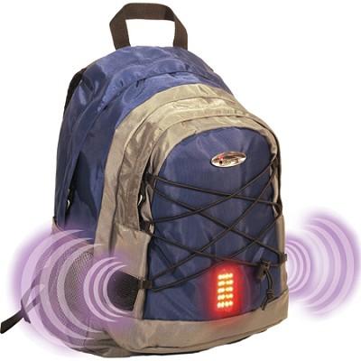 Guardian School/College Travel Nylon Laptop Shoulder Backpack/Bag - Blue