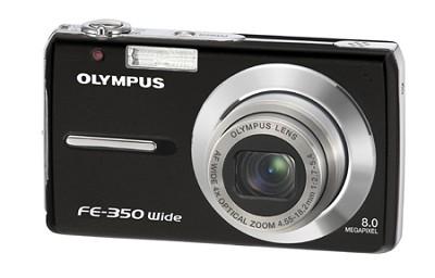FE-350 8MP Digital Camera (black)- OPEN BOX