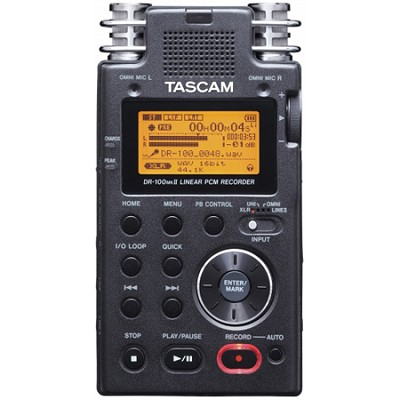DR-100mkII - 2-Channel Portable Digital Recorder