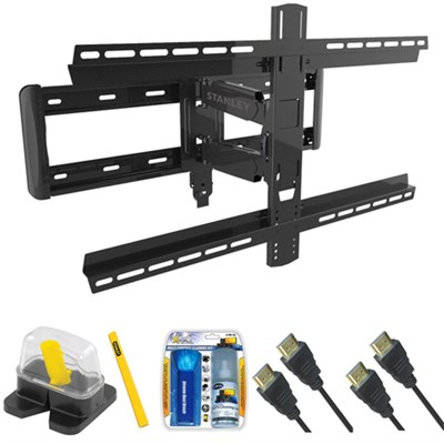 Pro Series Large Extension TV Mount & Set Up Kit for 37`-90` TVs up to 100LB