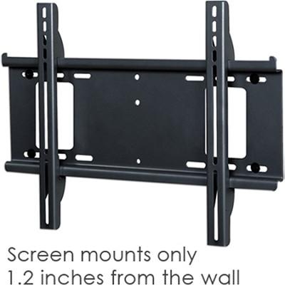Flat Smart Mount for Flat Panel TVs (Black) - OPEN BOX