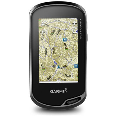 Oregon 750t Handheld GPS w/ Built-In Wi-Fi, Camera & Bluetooth - TOPO Canada