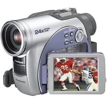 VDR-M53 DIGA DVD Palmcorder MultiCam Camcorder with 24x  -  OPEN BOX