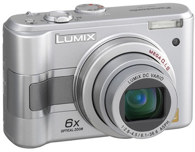DMC-LZ5S (Silver) Lumix 6-Megapixel Compact Digital Camera w/ 6x Optical Zoom