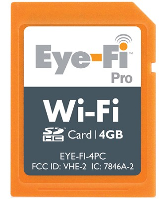 4GB Eye-Fi Pro Wi-Fi Wireless SDHC Memory Card