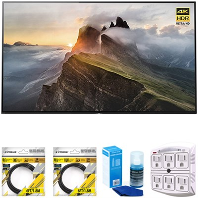 55` 4K Ultra HD Smart Bravia OLED TV 2017 Model with Cleaning Bundle