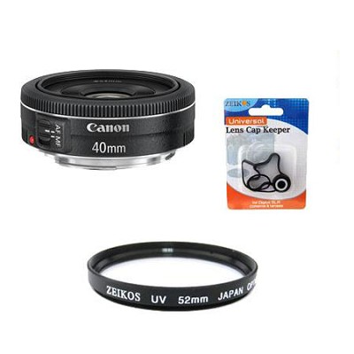 EF 40mm f/2.8 STM Pancake Lens Kit