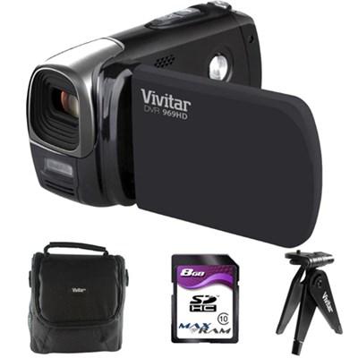 969 HD Digital Camcorder w/ Vivitar Experience Software Accessory Bundle
