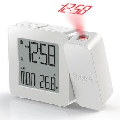 Projection Alarm Clock White - RM338PAW