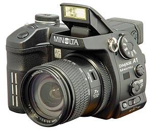Dimage A1 Digital Camera