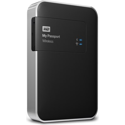 1TB My Passport Wireless External Hard Drive - OPEN BOX