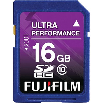 16 GB SDHC Class 10 Flash Memory Card