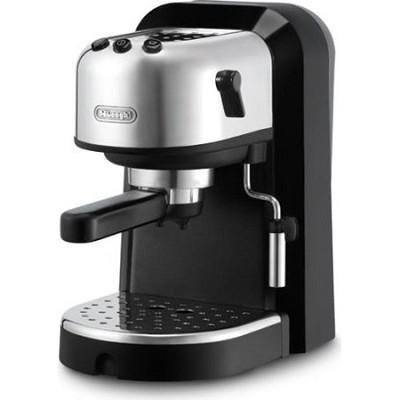 EC270 15-Bar-Pump Espresso Machine, Black and Stainless