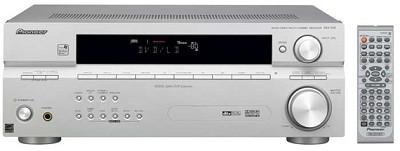 VSX-516S 7.1-channel A/V receiver w/ Sound Retriever, WMA9 Pro (Silver)