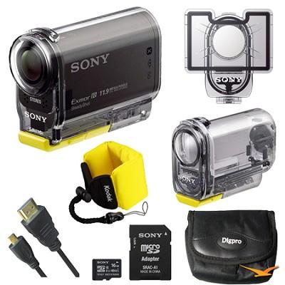 HDR-AS30V High Definition POV Action Video Camera Bundle