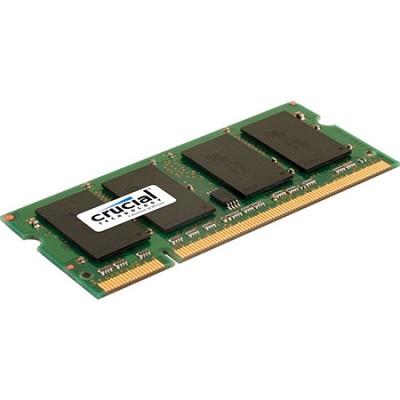 1GB 200-pin SODIMM DDR2 PC2-6400 Unbuffered Non-ECC
