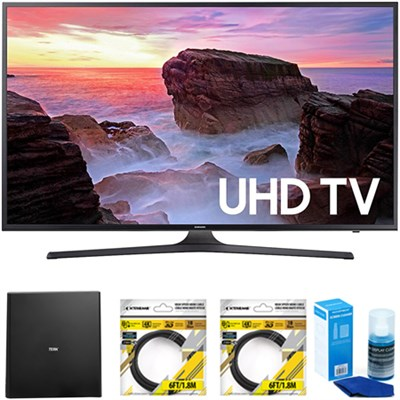 65` 4K HDR Ultra HD Smart LED TV 2017 Model with Antenna Bundle