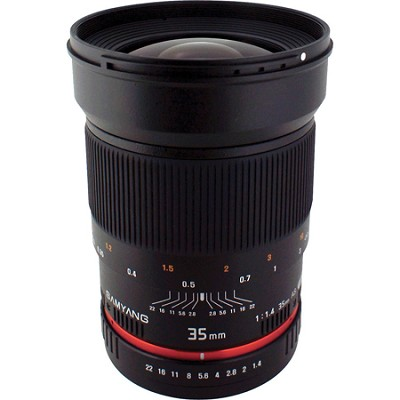 35mm F1.4 Wide-Angle UMC Lens for Olympus 4/3