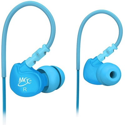 M6 Sports In-Ear Headphones (Teal)