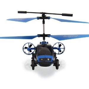 RC Helicopter Sky Car: Car & Helicopter
